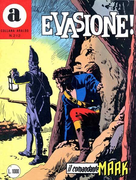 il Comandante Mark collana Araldo copertina numero 212