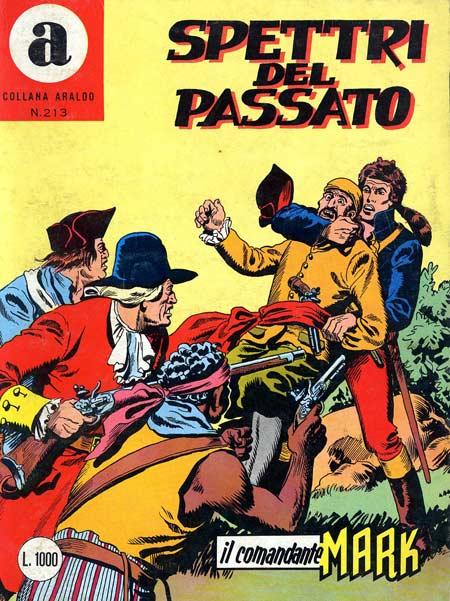 il Comandante Mark collana Araldo copertina numero 213