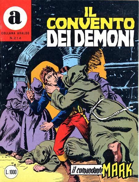 il Comandante Mark collana Araldo copertina numero 214