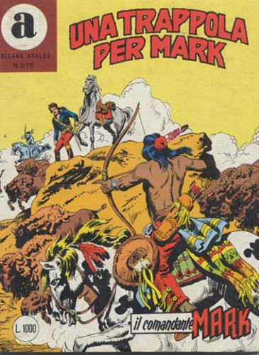 il Comandante Mark collana Araldo copertina numero 215