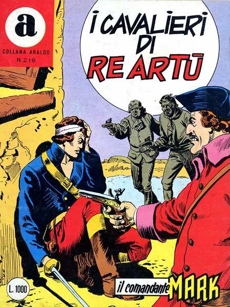 il Comandante Mark collana Araldo copertina numero 216