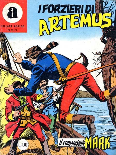 il Comandante Mark collana Araldo copertina numero 217