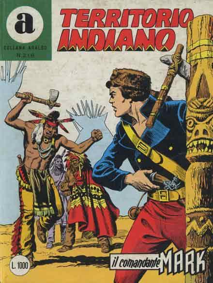 il Comandante Mark collana Araldo copertina numero 218