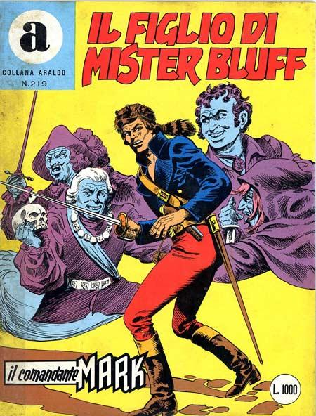 il Comandante Mark collana Araldo copertina numero 219
