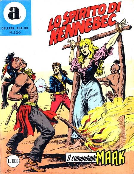 il Comandante Mark collana Araldo copertina numero 220