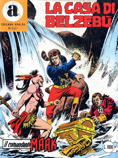il Comandante Mark collana Araldo copertina numero 221