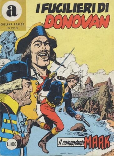 il Comandante Mark collana Araldo copertina numero 223