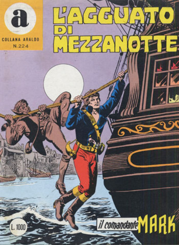 il Comandante Mark collana Araldo copertina numero 224