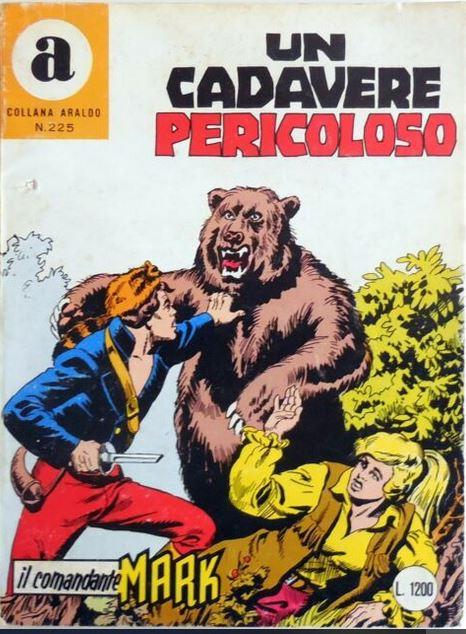 il Comandante Mark collana Araldo copertina numero 225