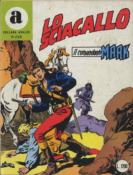 il Comandante Mark collana Araldo copertina numero 226