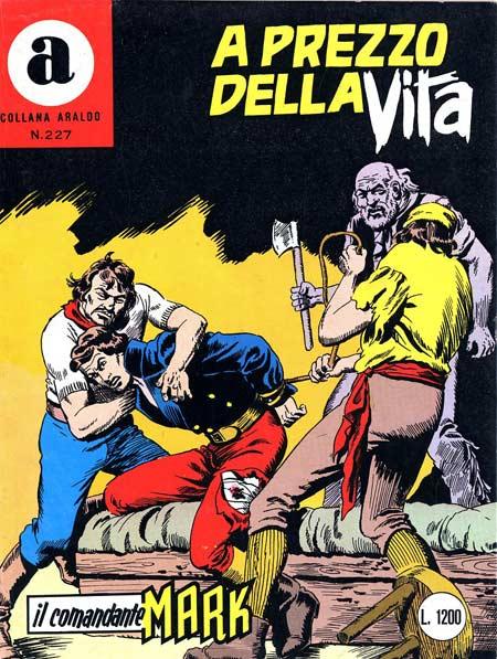 il Comandante Mark collana Araldo copertina numero 227
