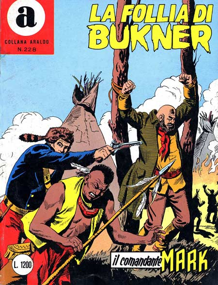 il Comandante Mark collana Araldo copertina numero 228