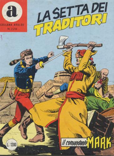 il Comandante Mark collana Araldo copertina numero 229