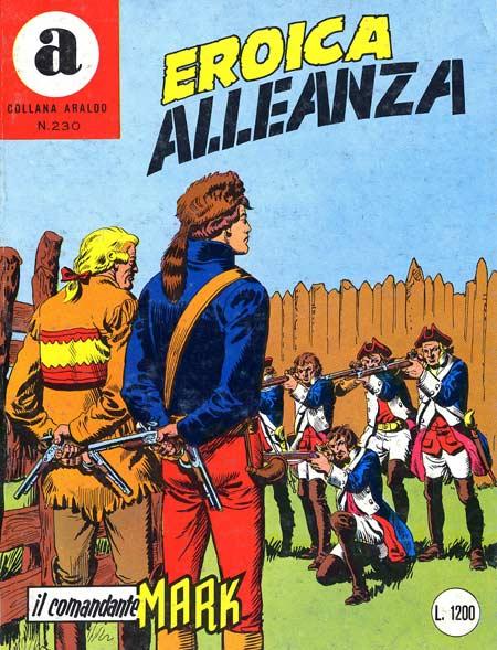 il Comandante Mark collana Araldo copertina numero 230