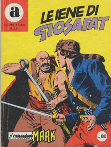 il Comandante Mark collana Araldo copertina numero 231