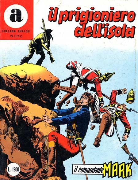 il Comandante Mark collana Araldo copertina numero 232