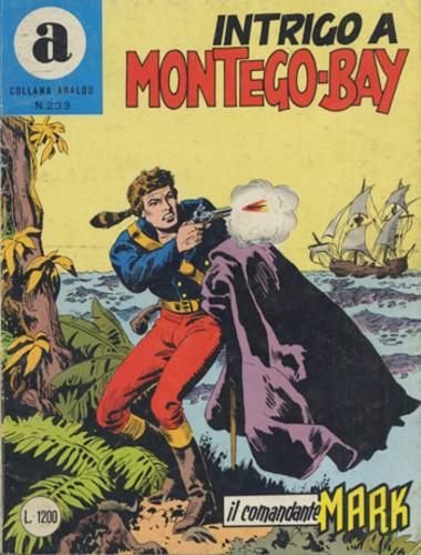 il Comandante Mark collana Araldo copertina numero 233