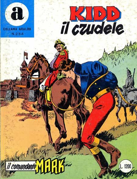 il Comandante Mark collana Araldo copertina numero 234