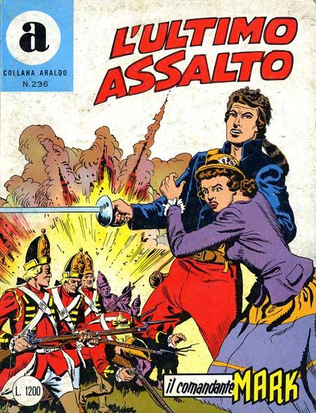 il Comandante Mark collana Araldo copertina numero 236