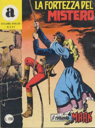 il Comandante Mark collana Araldo copertina numero 237