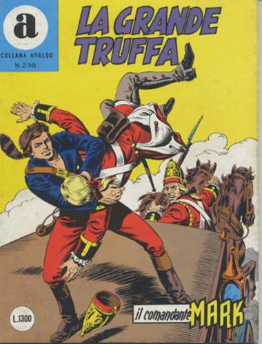 il Comandante Mark collana Araldo copertina numero 238