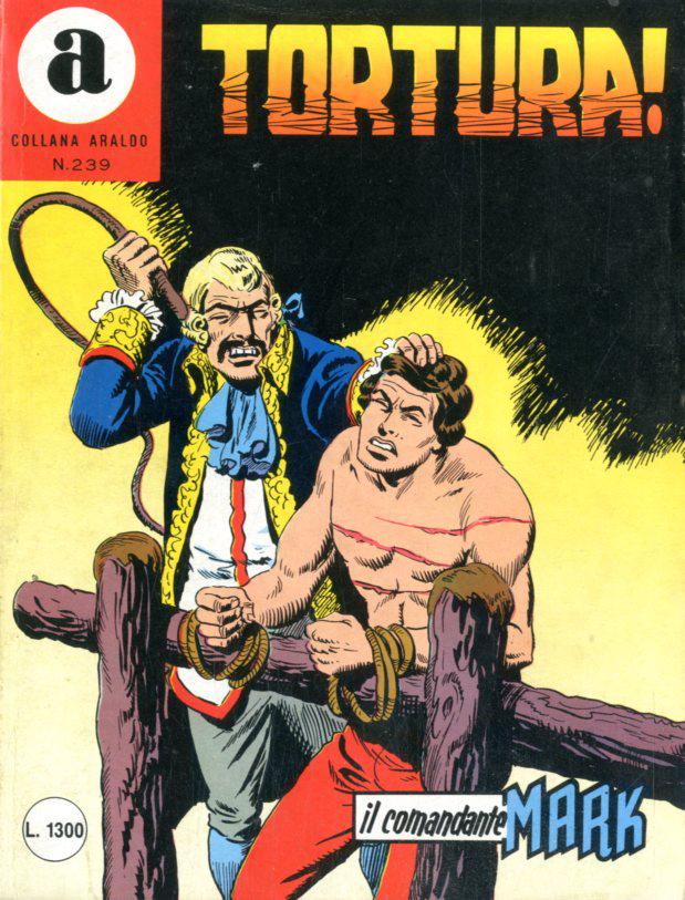il Comandante Mark collana Araldo copertina numero 239