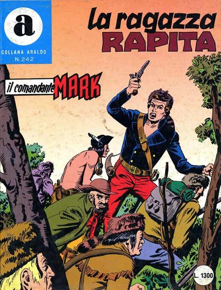 il Comandante Mark collana Araldo copertina numero 242