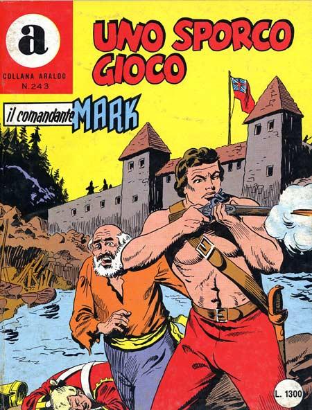 il Comandante Mark collana Araldo copertina numero 243