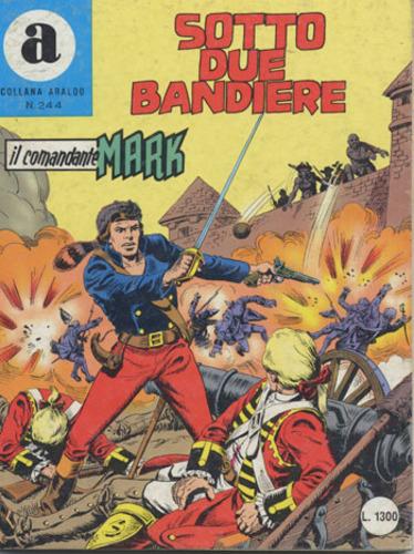 il Comandante Mark collana Araldo copertina numero 244