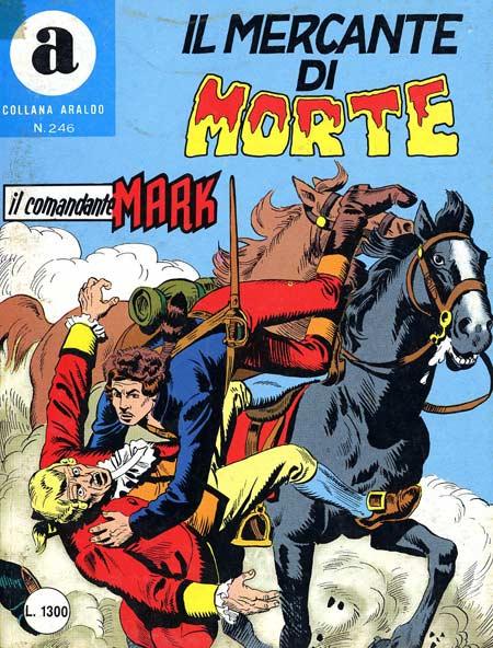 il Comandante Mark collana Araldo copertina numero 246