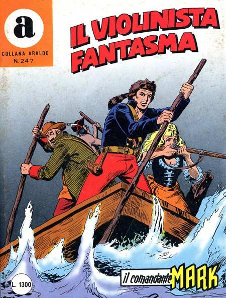 il Comandante Mark collana Araldo copertina numero 247