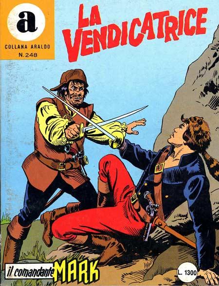 il Comandante Mark collana Araldo copertina numero 248