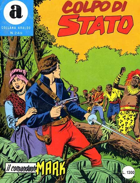 il Comandante Mark collana Araldo copertina numero 249
