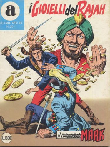 il Comandante Mark collana Araldo copertina numero 251