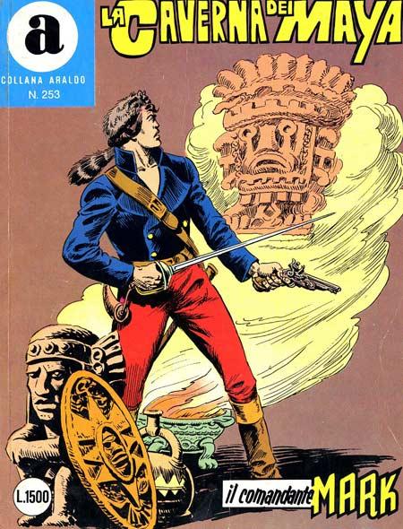 il Comandante Mark collana Araldo copertina numero 253