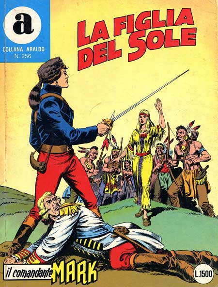 il Comandante Mark collana Araldo copertina numero 256