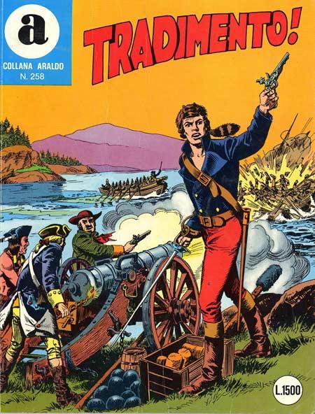 il Comandante Mark collana Araldo copertina numero 258