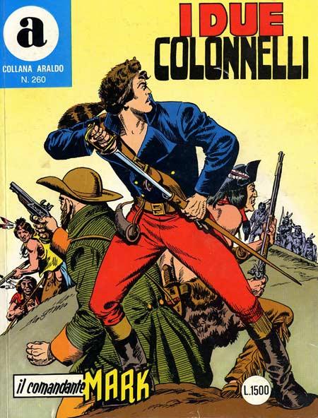 il Comandante Mark collana Araldo copertina numero 260