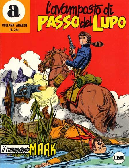 il Comandante Mark collana Araldo copertina numero 261