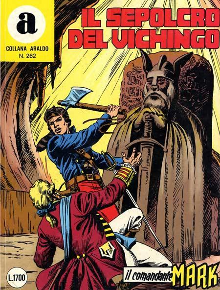 il Comandante Mark collana Araldo copertina numero 262