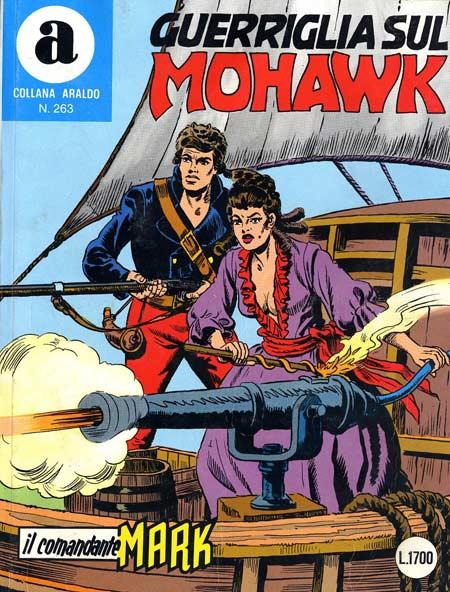 il Comandante Mark collana Araldo copertina numero 263