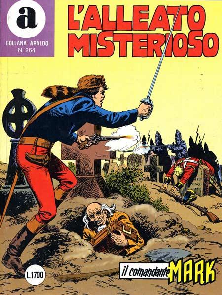 il Comandante Mark collana Araldo copertina numero 264