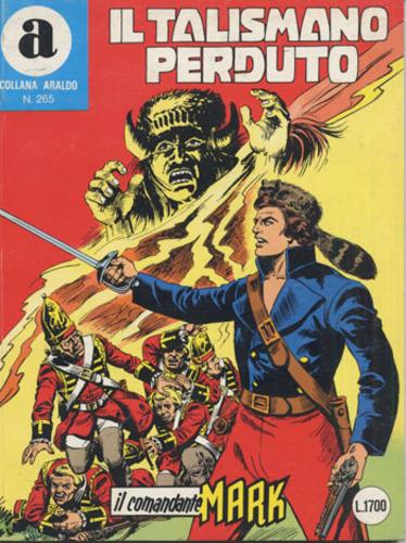 il Comandante Mark collana Araldo copertina numero 265