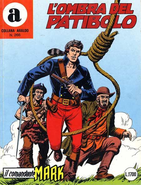 il Comandante Mark collana Araldo copertina numero 266