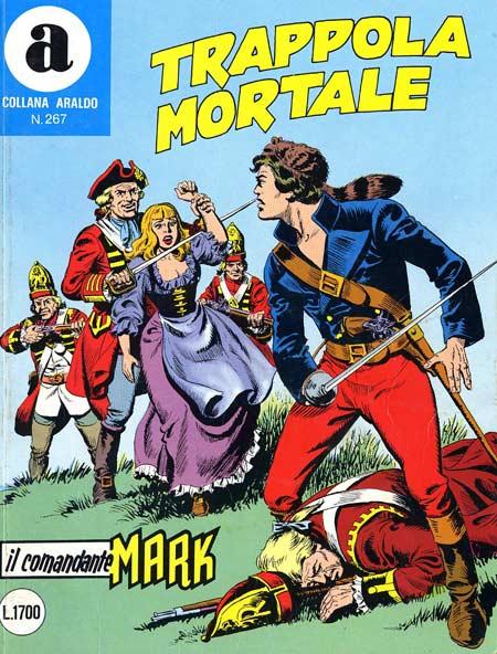 il Comandante Mark collana Araldo copertina numero 267