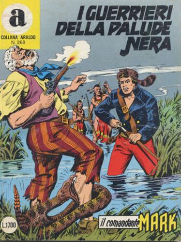 il Comandante Mark collana Araldo copertina numero 268