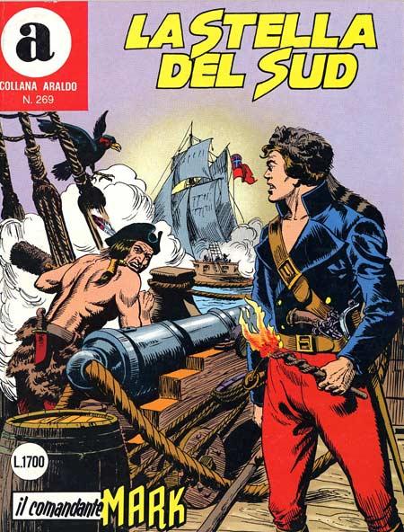 il Comandante Mark collana Araldo copertina numero 269