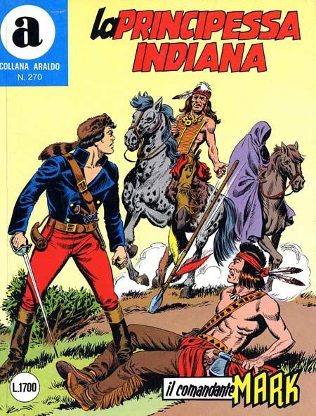 il Comandante Mark collana Araldo copertina numero 270