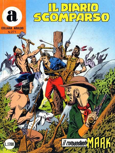 il Comandante Mark collana Araldo copertina numero 271