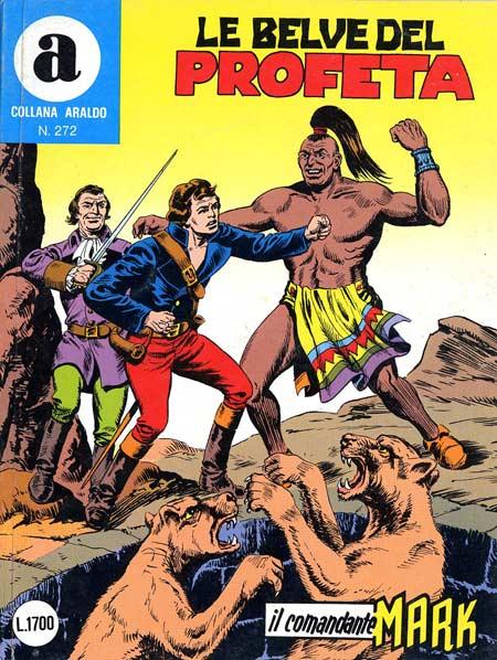 il Comandante Mark collana Araldo copertina numero 272